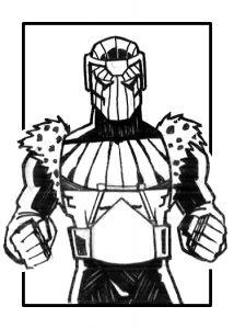 Baron Zemo Sketch