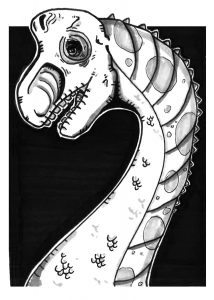 Brachiosaurus Sketch